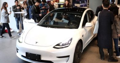 Tesla delivered its first electric cars